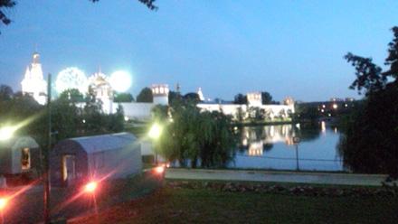 モスクワの夜景