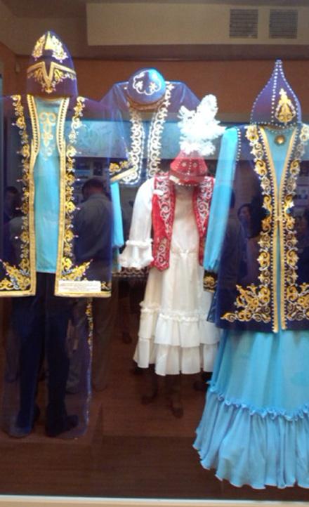 バイコ博物館カザフ民族衣装