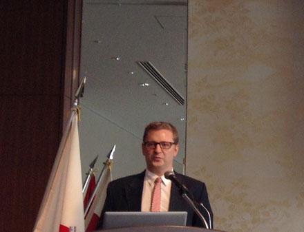11枚目写真 イエスパー・トムセン駐日デンマーク王国大使館次席公使
