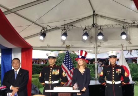 ケネディ大使 帽子