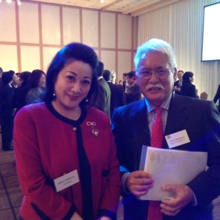 Midori with Warren