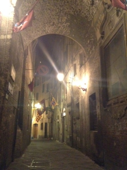 Siena night