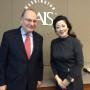 Prof.Calder and Midori Nishiura